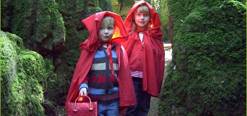 Come and dress up as Little Red Riding Hood or the Woodcutter